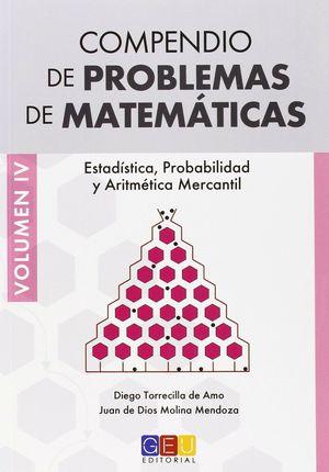COMPENDIO DE PROBLEMAS DE MATEMATICAS VOLUMEN IV