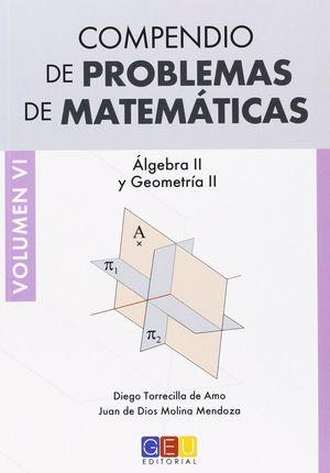 COMPENDIO DE PROBLEMAS DE MATEMATICAS VOLUMEN VI