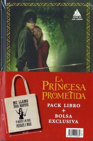 LA PRINCESA PROMETIDA (PACK LIBRO + BOLSA REGALO)