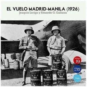 EL VUELO MADRID-MANILA (1926)