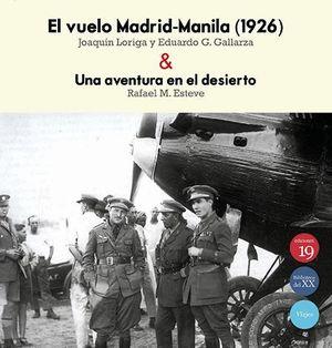 EL VUELO MADRID MANILA 1926 UNA AVENTURA EN EL DESIER