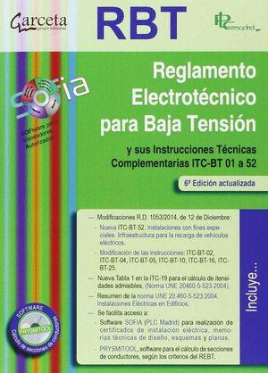 RBT 6ED.-REGLAMENTO ELECTROTECNICO PARA BAJA TENSION