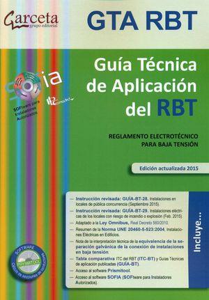 GUIA TECNICA DE APLICACION DEL RBT (5ª EDICION 2015)