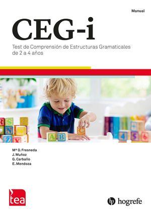 CEG-INFANTIL JUEGO COMPLETO TEST COMPRENSION
