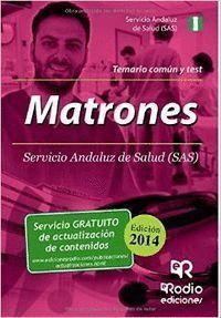 MATRONES SAS. TEMARIO COMUN Y TEST