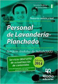 PERSONAL DE LAVANDERIA-PLANCHADO SAS. TEMARIO COMUN Y TEST