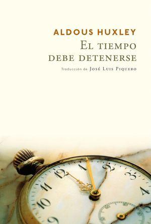 EL TIEMPO DEBE DETENERSE