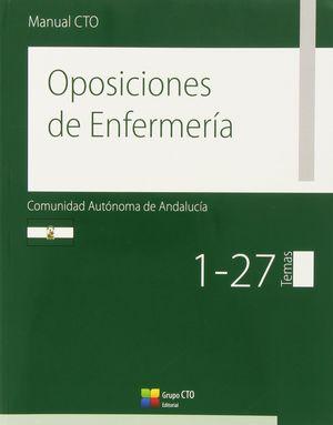 OPOSICIONES ENFERMERIA ANDALUCIA 4 VOLS.