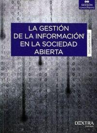 GESTION DE LA INFORMACION EN LA SOCIEDAD ABIERTA
