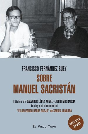SOBRE MANUEL SACRISTAN +DVD
