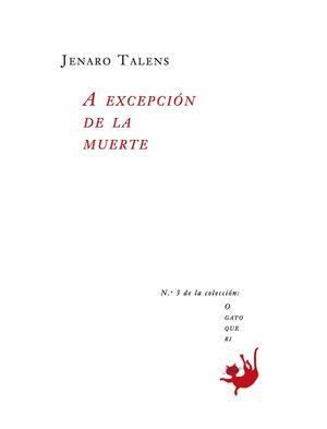 A EXCEPCION DE LA MUERTE