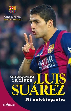 LUIS SUAREZ CRUZANDO LA LINEA