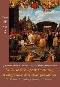 LA CORTE DE FELIPE IV (1621-1665). RECONFIGURACIÓN DE LA MONARQUÍA CATÓLICA TOMO IV VOL.2
