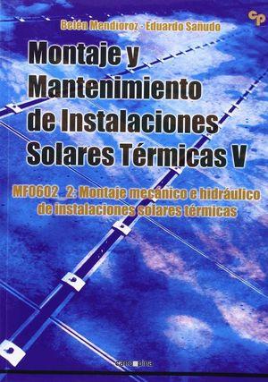 MONTAJE Y MANTENIMIENTO DE INSTALACIONES SOLARES TERMICAS V