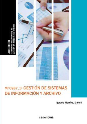 GESTION DE SISTEMAS DE INFORMACION Y ARCHIVO