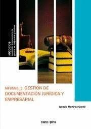 GESTION DE DOCUMENTACION JURIDICA Y EMPRESARIAL
