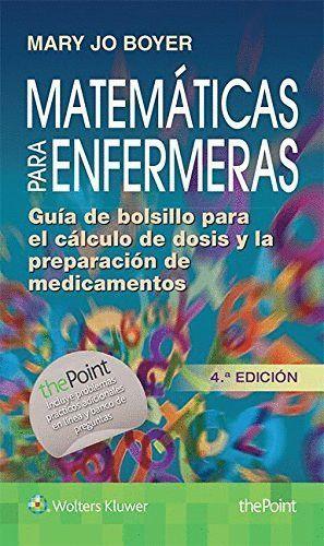 MATEMATICAS PARA ENFERMERAS