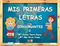 MIS PRIMERAS LETRAS CONSONANTES 2 (ESPIRAL)