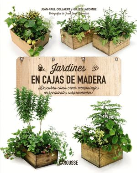 JARDINES EN CAJAS DE MADERA