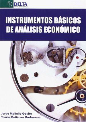 INSTRUMENTOS BASICOS DEL ANALISIS ECONOMICO