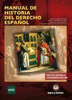 MANUAL DE HISTORIA DEL DERECHO ESPAÑOL