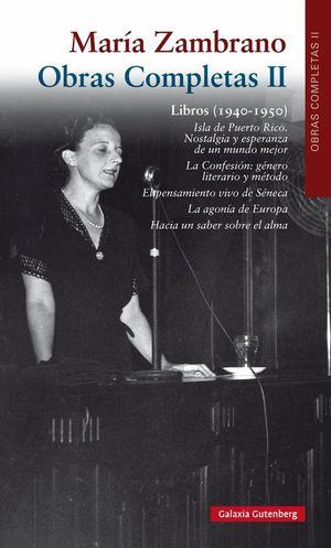 LIBROS 1940-1950. OBRAS COMPLETAS II