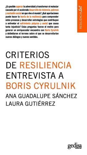 CRITERIOS DE RESILIENCIA / ENTREVISTA A BORIS CYRULNIK