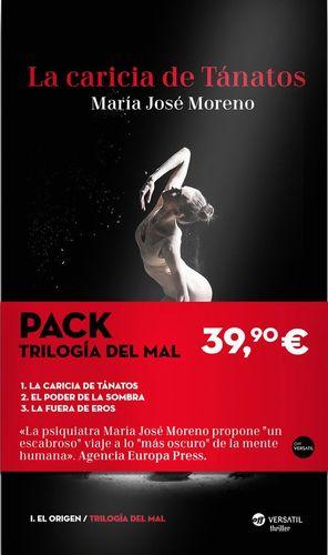 PACK LA TRILOGIA DEL MAL (3 VOL.) LA CARICIA DE TANATOS / EL