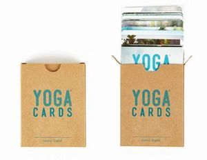 YOGA CARDS (BARAJA) ESPAÑOL - INGLES