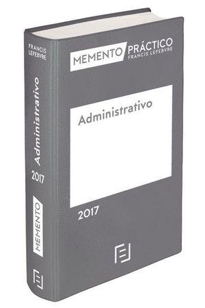 MEMENTO PRÁCTICO ADMINISTRATIVO 2017