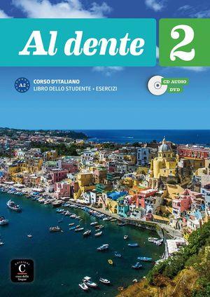 AL DENTE 2 LIBRO DEL ALUMNO + EJERCICIOS + CD A2