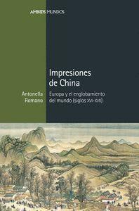 IMPRESIONES DE CHINA
