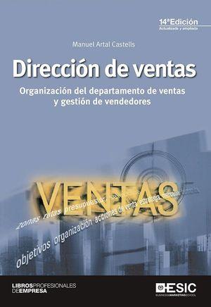 DIRECCION DE VENTAS 14ªED. ACTUALIZADA Y AMPLIADA