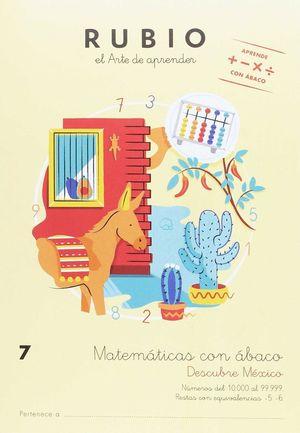 MATEMÁTICAS CON ÁBACO 7