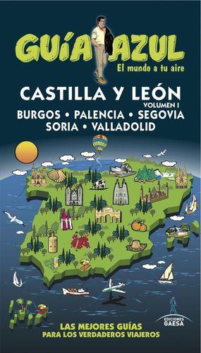 CASTILLA Y LEON VOL.1 (GUIA AZUL) (2016)