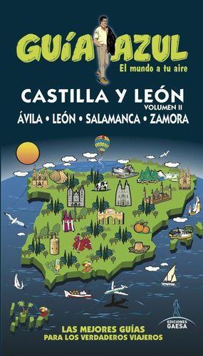 CASTILLA Y LEON VOL.2 (GUIA AZUL) (2016)