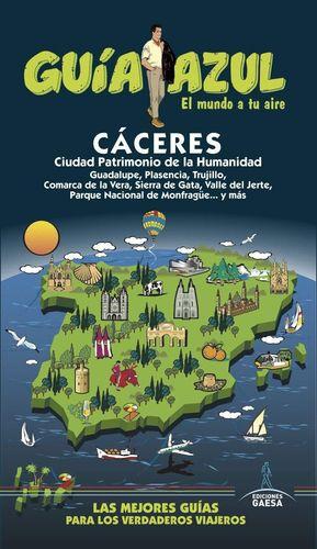CACERES GUIA AZUL