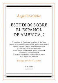 ESTUDIOS SOBRE EL ESPAÑOL DE AMÉRICA 2