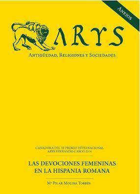 ANEJOS ARYS Nº VIII ANTIGÜEDAD, RELIGIONES Y SOCIEDADES