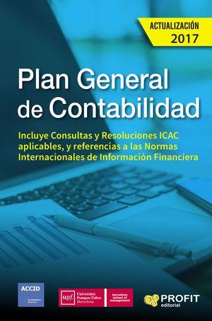 PLAN GENERAL DE CONTABILIDAD 2017