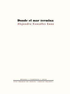 DONDE EL MAR TERMINA