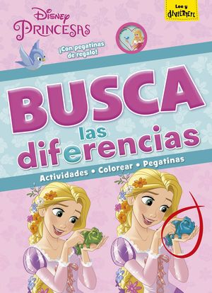 PRINCESAS. BUSCA LAS DIFERENCIAS