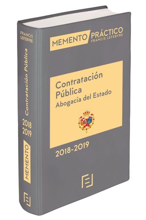 MEMENTO CONTRATACIÓN PÚBLICA (ABOGACÍA DEL ESTADO) 2018-2019