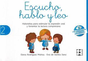 ESCUCHO HABLO Y LEO LIBRO DE LECTURA 2