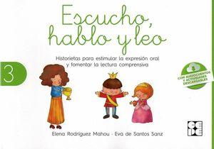 ESCUCHO, HABLO Y LEO LIBRO DE LECTURA 3