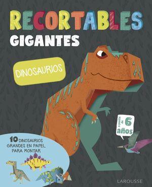 RECORTABLES GIGANTES DINOSAURIOS