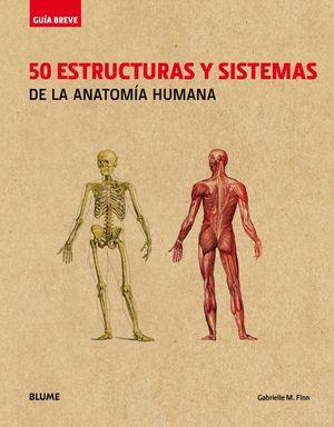 50 ESTRUCTURAS Y SISTEMAS DE LA ANATOMIA HUMANA