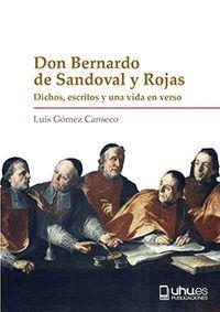 DON BERNARDO DE SANDOVAL Y ROJAS