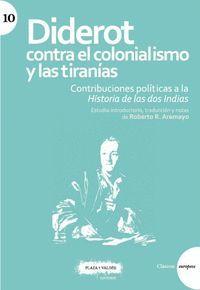 DIDEROT CONTRA EL COLONIALISMO Y LAS TIRANÍAS