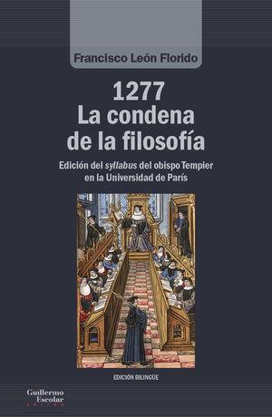 1277. LA CONDENA DE LA FILOSOFÍA